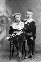 Елизавета и Леонид Хорошкевичи. около 1909 г.